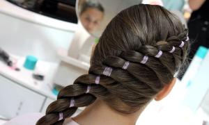 'экспресс курс по плетению кос